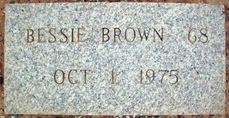 BROWN, BESSIE - Maricopa County, Arizona | BESSIE BROWN - Arizona Gravestone Photos