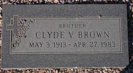 BROWN, CLYDE V. - Maricopa County, Arizona | CLYDE V. BROWN - Arizona Gravestone Photos