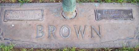 BROWN, LILLIE B. - Maricopa County, Arizona | LILLIE B. BROWN - Arizona Gravestone Photos