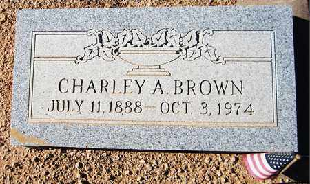 BROWN, CHARLEY A. - Maricopa County, Arizona | CHARLEY A. BROWN - Arizona Gravestone Photos