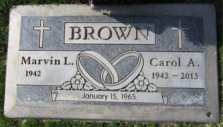 BROWN, CAROL A - Maricopa County, Arizona | CAROL A BROWN - Arizona Gravestone Photos