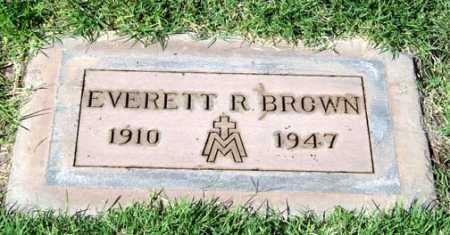 BROWN, EVERETT R. - Maricopa County, Arizona   EVERETT R. BROWN - Arizona Gravestone Photos
