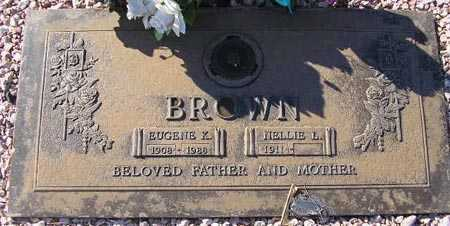 BROWN, NELLIE L. - Maricopa County, Arizona | NELLIE L. BROWN - Arizona Gravestone Photos