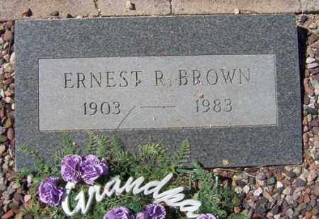 BROWN, ERNEST R. - Maricopa County, Arizona | ERNEST R. BROWN - Arizona Gravestone Photos