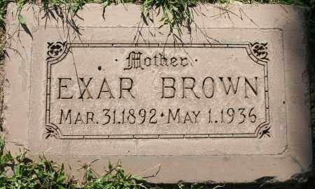 BROWN, EXAR - Maricopa County, Arizona | EXAR BROWN - Arizona Gravestone Photos