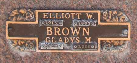 BROWN, GLADYS M - Maricopa County, Arizona | GLADYS M BROWN - Arizona Gravestone Photos