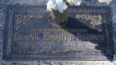 BROWN, FRANK EMMITT - Maricopa County, Arizona | FRANK EMMITT BROWN - Arizona Gravestone Photos