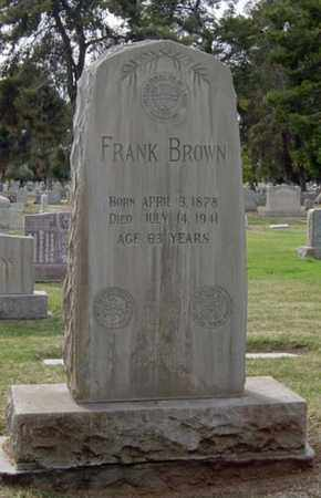 BROWN, FRANK - Maricopa County, Arizona | FRANK BROWN - Arizona Gravestone Photos