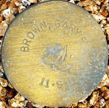 BROWN, GARY F. - Maricopa County, Arizona | GARY F. BROWN - Arizona Gravestone Photos