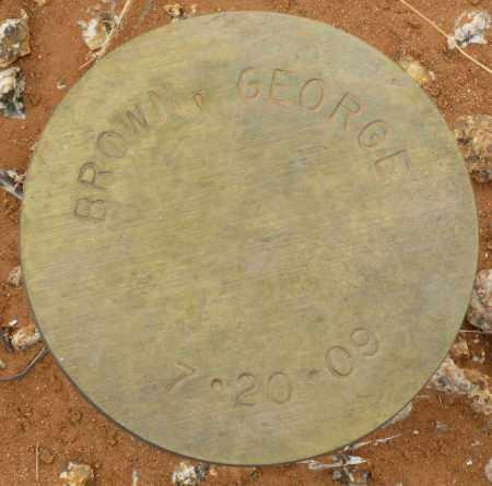 BROWN, GEORGE - Maricopa County, Arizona | GEORGE BROWN - Arizona Gravestone Photos