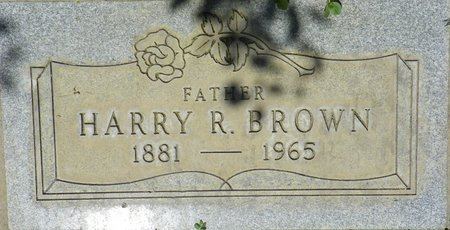 BROWN, HARRY R - Maricopa County, Arizona | HARRY R BROWN - Arizona Gravestone Photos