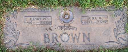 BROWN, NINA M. - Maricopa County, Arizona   NINA M. BROWN - Arizona Gravestone Photos