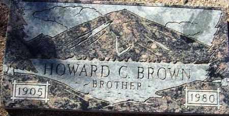 BROWN, HOWARD C. - Maricopa County, Arizona | HOWARD C. BROWN - Arizona Gravestone Photos