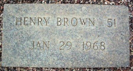 BROWN, HENRY - Maricopa County, Arizona   HENRY BROWN - Arizona Gravestone Photos