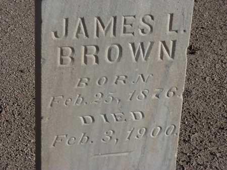 BROWN, JAMES L - Maricopa County, Arizona | JAMES L BROWN - Arizona Gravestone Photos
