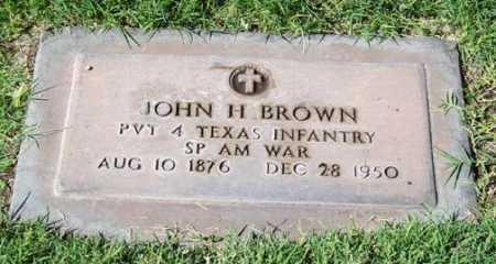 BROWN, JOHN H. - Maricopa County, Arizona | JOHN H. BROWN - Arizona Gravestone Photos