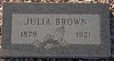 BROWN, JULIA - Maricopa County, Arizona | JULIA BROWN - Arizona Gravestone Photos