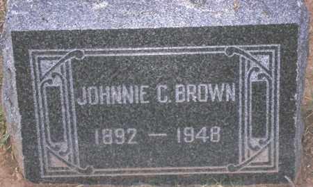 BROWN, JOHNNIE C. - Maricopa County, Arizona   JOHNNIE C. BROWN - Arizona Gravestone Photos