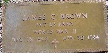 BROWN, JAMES C. - Maricopa County, Arizona | JAMES C. BROWN - Arizona Gravestone Photos