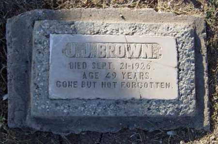 BROWN, J. J. - Maricopa County, Arizona | J. J. BROWN - Arizona Gravestone Photos