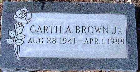 BROWN, GARTH A. (BROWNIE), JR - Maricopa County, Arizona | GARTH A. (BROWNIE), JR BROWN - Arizona Gravestone Photos