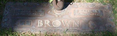 BROWN, HAZEL BLANCH - Maricopa County, Arizona | HAZEL BLANCH BROWN - Arizona Gravestone Photos