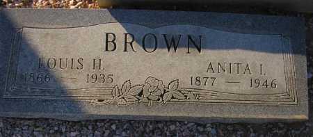 BROWN, ANITA I. - Maricopa County, Arizona   ANITA I. BROWN - Arizona Gravestone Photos
