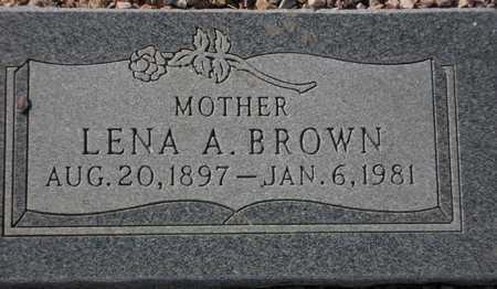 BROWN, LENA A. - Maricopa County, Arizona | LENA A. BROWN - Arizona Gravestone Photos