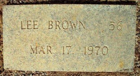 BROWN, LEE - Maricopa County, Arizona   LEE BROWN - Arizona Gravestone Photos