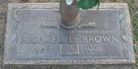 BROWN, MICHAEL L. - Maricopa County, Arizona   MICHAEL L. BROWN - Arizona Gravestone Photos