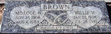 BROWN, MOSCOE N. - Maricopa County, Arizona | MOSCOE N. BROWN - Arizona Gravestone Photos