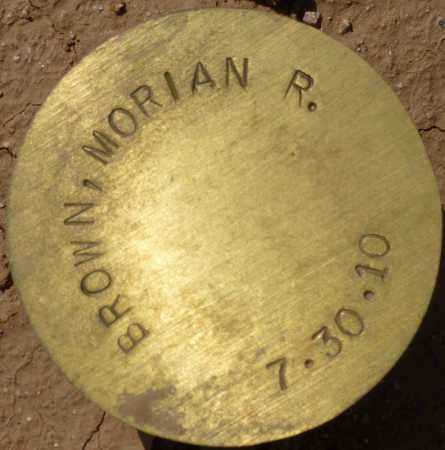BROWN, MORIAN R. - Maricopa County, Arizona   MORIAN R. BROWN - Arizona Gravestone Photos