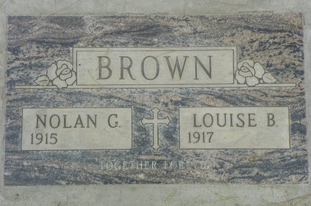 BROWN, LOUISE B - Maricopa County, Arizona   LOUISE B BROWN - Arizona Gravestone Photos