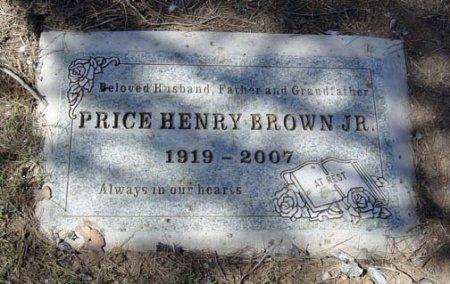 BROWN, PRICE HENRY, JR. - Maricopa County, Arizona | PRICE HENRY, JR. BROWN - Arizona Gravestone Photos