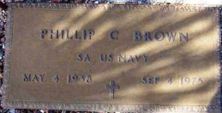 BROWN, PHILLIP C. - Maricopa County, Arizona | PHILLIP C. BROWN - Arizona Gravestone Photos