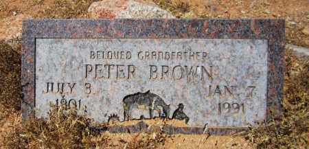 BROWN, PETER - Maricopa County, Arizona | PETER BROWN - Arizona Gravestone Photos