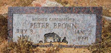BROWN, PETER - Maricopa County, Arizona | PETER BROWN - Arizona Gravestone Photos