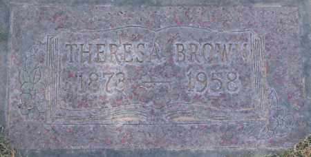 BROWN, THERESA - Maricopa County, Arizona | THERESA BROWN - Arizona Gravestone Photos