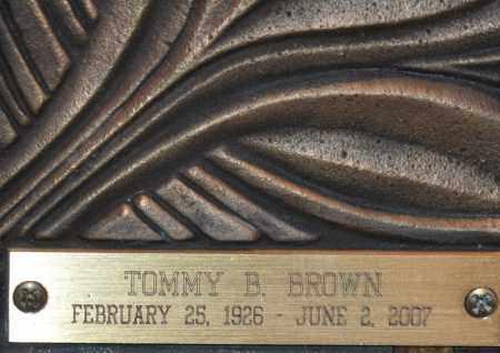 BROWN, TOMMY BLANE - Maricopa County, Arizona | TOMMY BLANE BROWN - Arizona Gravestone Photos