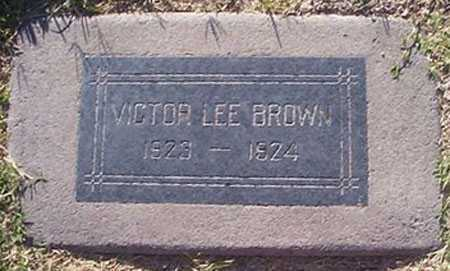 BROWN, VICTOR LEE - Maricopa County, Arizona | VICTOR LEE BROWN - Arizona Gravestone Photos
