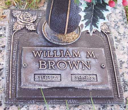BROWN, WILLIAM M. - Maricopa County, Arizona | WILLIAM M. BROWN - Arizona Gravestone Photos