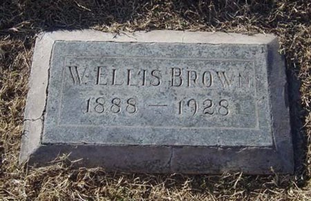 BROWN, WILLIAM ELLIS - Maricopa County, Arizona | WILLIAM ELLIS BROWN - Arizona Gravestone Photos