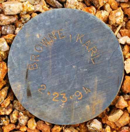 BROWNE, KARL - Maricopa County, Arizona | KARL BROWNE - Arizona Gravestone Photos