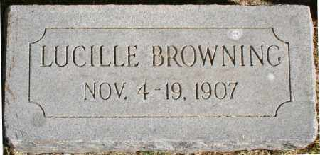 BROWNING, LUCILLE - Maricopa County, Arizona | LUCILLE BROWNING - Arizona Gravestone Photos