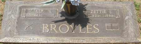BROYLES, ZETTIE S. - Maricopa County, Arizona | ZETTIE S. BROYLES - Arizona Gravestone Photos