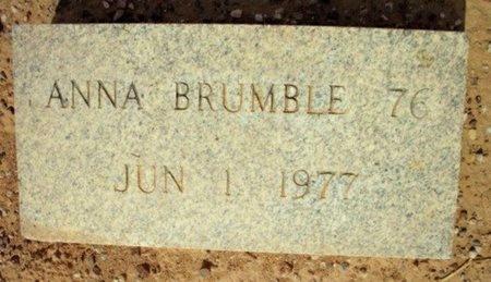 BRUMBLE, ANNA - Maricopa County, Arizona | ANNA BRUMBLE - Arizona Gravestone Photos