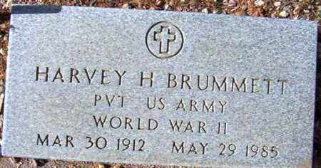 BRUMMETT, HARVEY H. - Maricopa County, Arizona | HARVEY H. BRUMMETT - Arizona Gravestone Photos