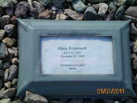 BRUMMETT, MARY A. - Maricopa County, Arizona | MARY A. BRUMMETT - Arizona Gravestone Photos