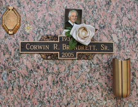 BRUNDRETT, CORWIN ROGER, SR. - Maricopa County, Arizona | CORWIN ROGER, SR. BRUNDRETT - Arizona Gravestone Photos