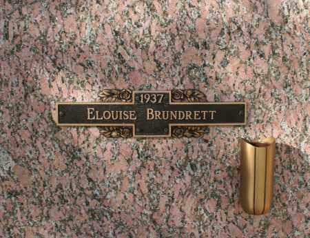 BRUNDRETT, ELOUISE - Maricopa County, Arizona | ELOUISE BRUNDRETT - Arizona Gravestone Photos